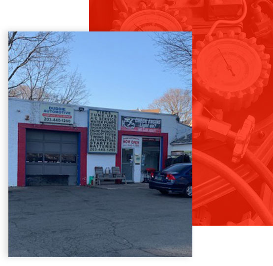 Store front of Duddie Automotive